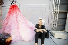 Parties — Giambattista Valli Couture Fall 2014 Backstage