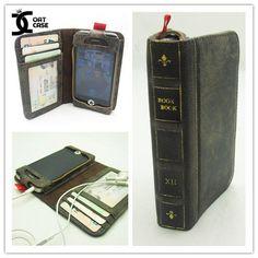Case Skin Livro Antigo - Iphone4/4s