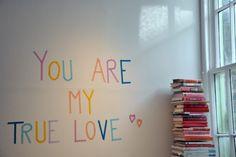 tape message for valentine's day. brilliant. valentine day, shops, maskingtape, sweet home, homes, messages, tape messag, mask tape, masking tape