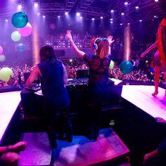 @Krewella killing it at @HazeNightclub Aria Las Vegas on Aug 30, 2014