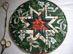 Folded star or Somerset patchwork
