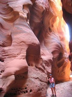 lesser known, but no less beautiful (but usually less money), travel locations in Utah, such as the slot canyons of Buckskin Gulch