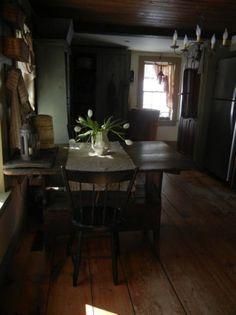 shabbi awesom, coloni kitchen, countri kitchen, prim room, primit decor, primit kitchen, period interior, dream interior