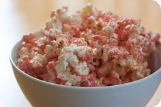 MICROWAVE PINK POPCORN ~