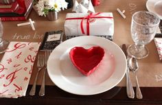 Valentine table idea