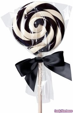 lollipop | b + w