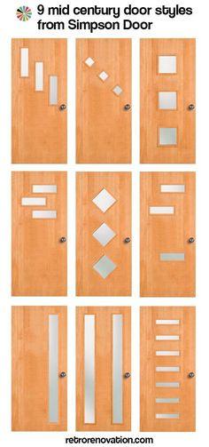 Mid-century-doors