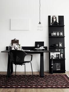 Noir...color para tu zona de trabajo