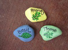 Whimsical Garden markers