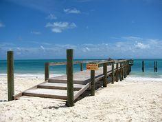 Beach Walk, Freeport, Bahamas
