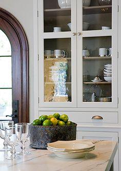 Anne Decker Architects + Kitchen Storage  family dinner room cabinets