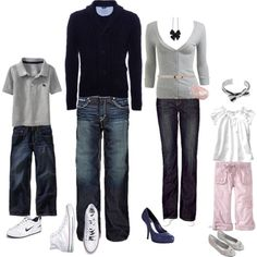 family pictures, family pics, color schemes, famili, family photos, family portraits, black white, family picture outfits, family photo outfits