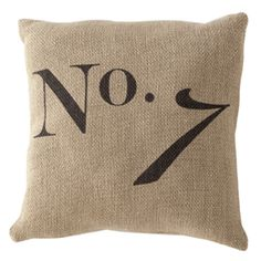 No 7 Pillow