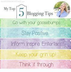 Lettered Cottage Blogging Tips Post