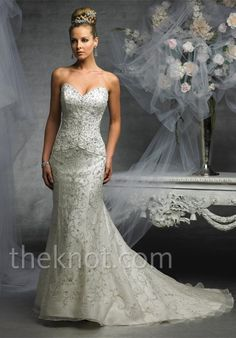 Check out this #weddingdress: J1825 by James Clifford Collection via iPhone #TheKnotLB from #TheKnot
