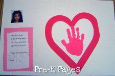 Valentines Day Theme   Preschool   Kindergarten   Pre-K Pages