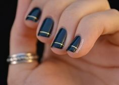 7 Golden Manicure Ideas