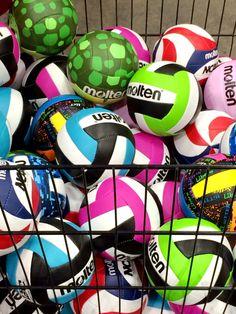 Molten Logo....Cutest baby Molten volleyballs EVER!!!
