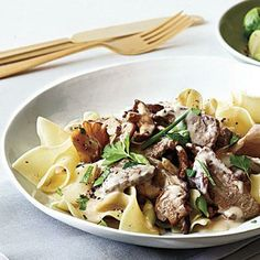 Quick Beef Stroganoff | CookingLight.com