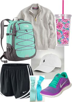 """school prep."" by abbiebogar ❤ liked on Polyvore"