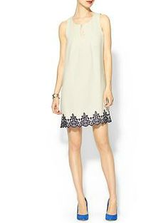 Pim + Larkin Embroidered Shift Dress | Piperlime
