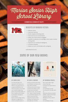 Marion Senior High School Library Flyer