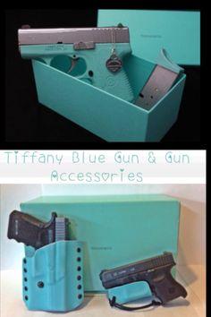 Tiffany gun in Tiffany Blue