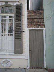 new orleans architecture new orleans, color schemes, color combos, shutter, front doors, paint colors, architecture, cream, blues