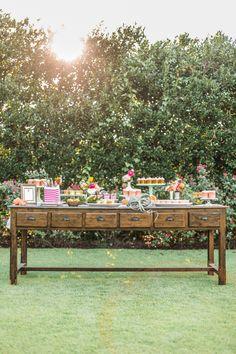 Dessert table,  See