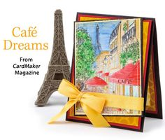 Café Dreams from the Autumn 2014 issue of CardMaker Magazine. Order a digital copy here: http://www.anniescatalog.com/detail.html?code=AM5254