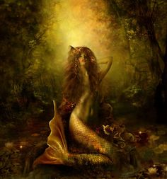 art inspir, mermen, fantasi, mermaid art, lakes, sea, lilla marton, mystic mermaid, sirena