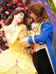 Belle and the Prince.