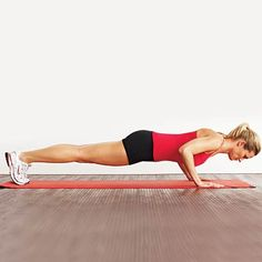 This workout flows you through high-intensity cardio-and-strength moves (like a classic push-up) in under 20 minutes | health.com
