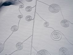 Snow Drawings at Rabbit Ears Pass by Sonja Hinrichsen