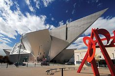 The Denver Art Museum offers a modern esthetic and boasts one of North America's best collections of native art.
