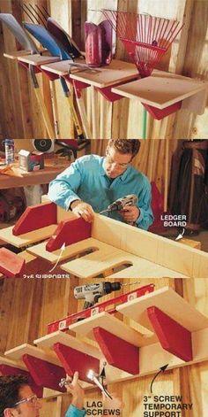 49 Brilliant Garage Organization Tips, Ideas and DIY Projects - DIY