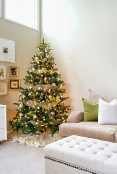 DIY Christmas tree ideas! These are great!