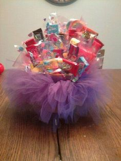 DIY Candy Bouquets For Kids