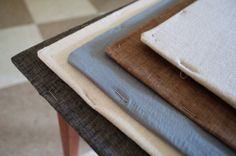 product photography tips - how to stretch fabric across cardboard or wood for photo backdrops