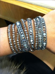 chan luu wrap bracelets - arm candy!