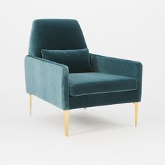 Smythe Velvet Chair