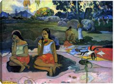 Gallery Direct Fine Art Prints: Sacred Spring by Paul Gauguin