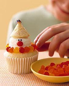 Clown Cupcake Recipe