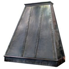 Nickel Silver Range Hood from Texas Lightsmith (they have beautiful hoods)