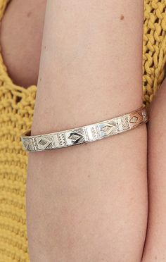 Geometric bangle by LOW LUV X ERIN WASSON