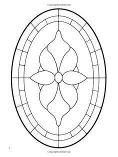 Easy Stained Glass Patterns for Traditional Doorways (Dover Stained Glass Instruction): Connie Clough Eaton: 9780486426082: Amazon.com: Books