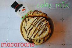 Cake Mix Macaroons a