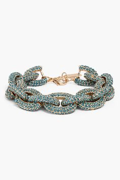 over-sized linked turquoise crystals~