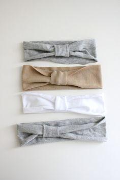 how to make a jersey knit headband