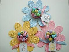 Stampin' Up!  Flower Folds  Easter Favors